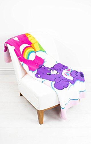 "Image of Care Bears ""Share"" Fleece Blanket - Large Print"