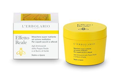 L'Erbolario Effetto Reale intensiv nährende Haarpackung, 1er Pack (1 x 150 ml)
