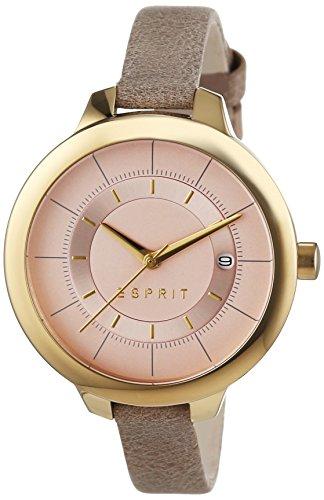 Esprit Damen-Armbanduhr Lynn Analog Quarz Leder ES108192004