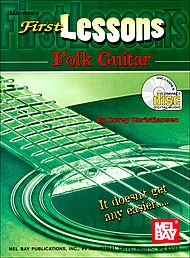 FIRST LESSONS FOLK GUITAR  PARTITURAS  CD PARA GUITARRA