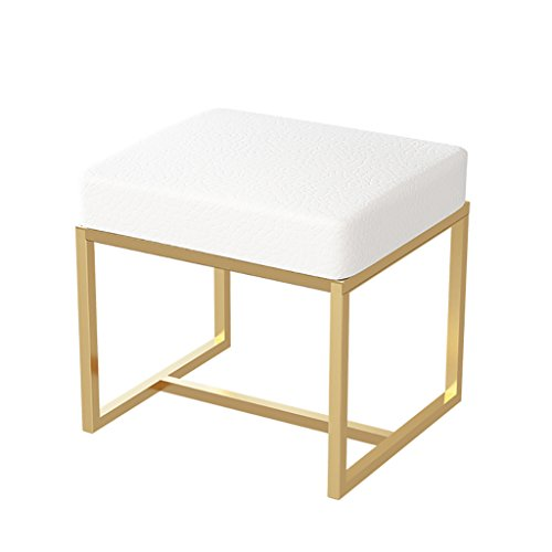 WY Nordic Dressing Hocker Schlafzimmer modernen minimalistischen Make-up Vanity Hocker Hocker Fashion Parlor Stuhl gepolstert Möbel (größe : #2) - Moderne Gepolstert Bar Hocker