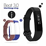 #8: Boltt Beat 3.0 Fitness Activity Tracker Smart Band Heart Rate Monitor Bluetooth Watch Pedometer Step, Distance & Sleep Monitor For iOS & Android Smartphones with Free Red & Blue Straps