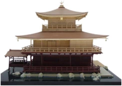 1/100 Scale Model - Kinkaku-ji - Temple of the Golden Construction... Pavilion - Construction... Golden (japan import) B000Y3374Y ca7323