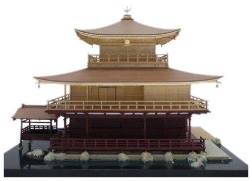 1/100 Scale Model - Kinkaku-ji - Temple of the Golden Pavilion - Construction... (japan import)