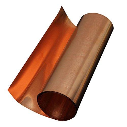 Kupferplatte - SODIAL(R) 2x Kupferplatte Metallblech 99.95% Reinheit