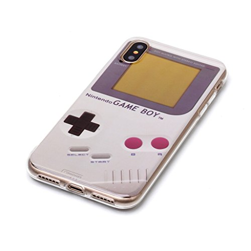custodia iphone x game boy