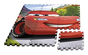 Desconocido Kids- Alfombra Puzzle Cars, 90 x 90 cm (WD17625)