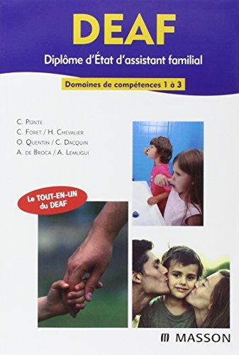 DEAF - Diplôme d'État d'Assistant Familial