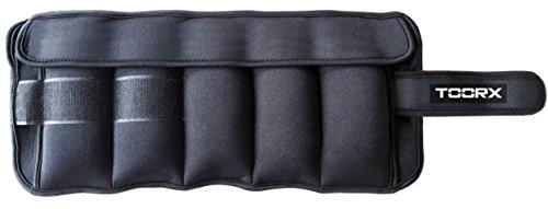 Toorx - Coppia polsiere-cavigliere appesantite con pesi estraibili 2 x 2.5 kg