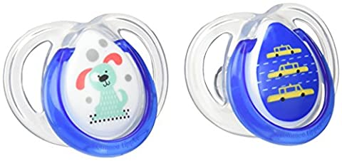 Tommee Tippee Any Time - Baby Soothers (Assorted Colours) Pack