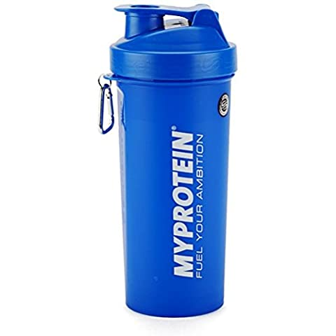 MYPROTEIN SMARTSHAKE LITE - 1 LITRE - Suitable for both dishwashers and microwaves (Blue)