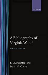 A Bibliography of Virginia Woolf (Soho Bibliographies)