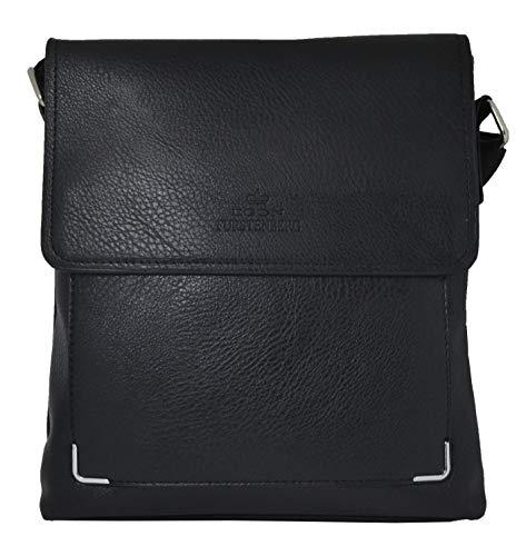 Egon Furstenberg Herren Umhängetasche Multi Tasca, elegant, Grau - grau - Größe: Medium - Gucci Medium Umhängetasche