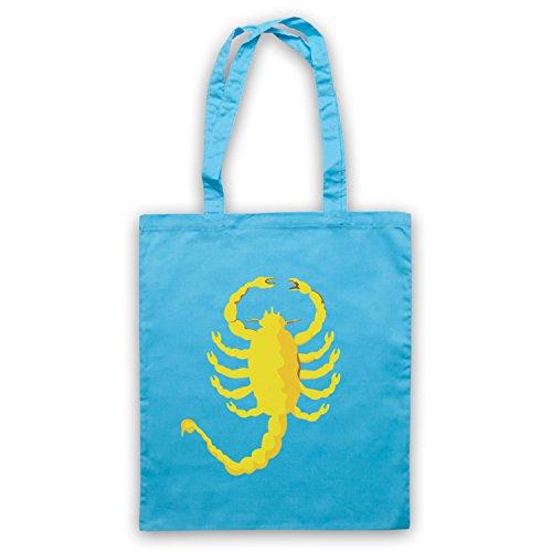 Inspiriert durch Drive Scorpion Inoffiziell Umhangetaschen Hellblau