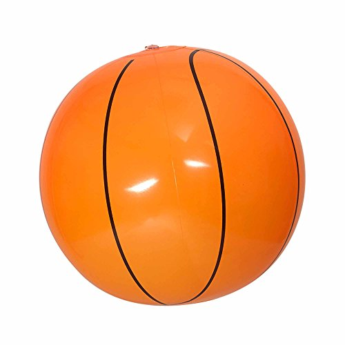 Widmann 01452 Aufblasbarer Basketball, Mehrfarbig