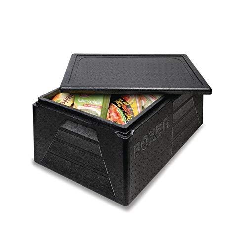 Thermo Future, contenitore termico CF410,Gastronorm 1/1, 42l, nero