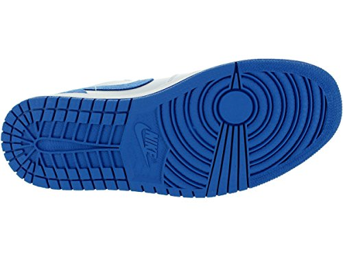 Nike Herren Air Jordan 1 Low Turnschuhe, Talla White/Sport Blue/Black