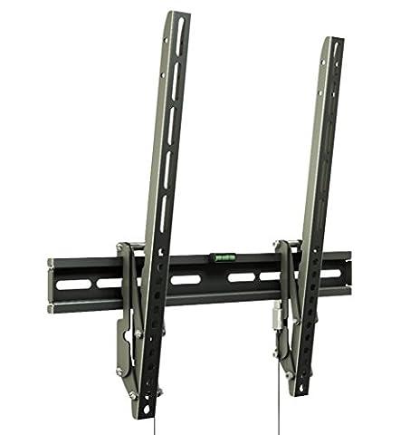 """RICOO TV Wandhalterung R01-11 Flache Plasma LCD LED Wandhalter für Fernseher mit 66 - 165cm (26 - 65"""") VESA / Lochabstand max. 400x400 universell passend fuer alle TV-Hersteller *** Wandabstand nur 28 mm *** Ultra Flache Ausführung *** 0/+15° neigbar ***"""