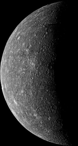 poster-a3-nasa-planet-mercury-mariner-10s-first-image-of-mercury-acquired-on-march-24-1974-during-it