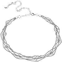 Trifycore Diamante Exquisita Cadena de Vientre de la Manera del Rhinestone cristalino de la Cadena del Vientre de Las Mujeres del Vientre Danza Decorar Plata,