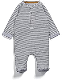 Mamas & Papas Henley Stripe All In One, Body para Bebés