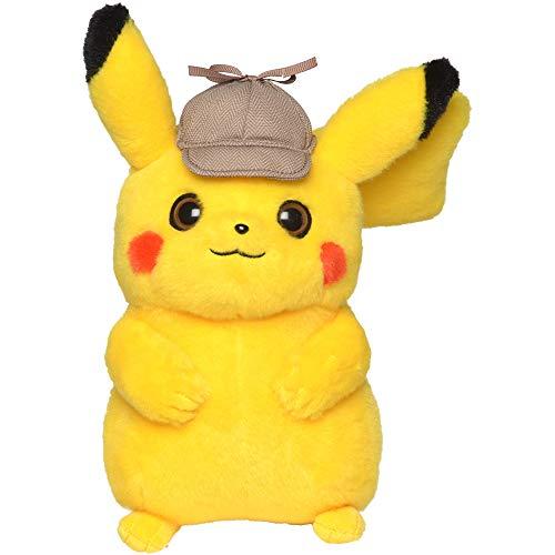Pokèmon- Peluche Deluxe Detective Pikachu (Bizak 63227559)