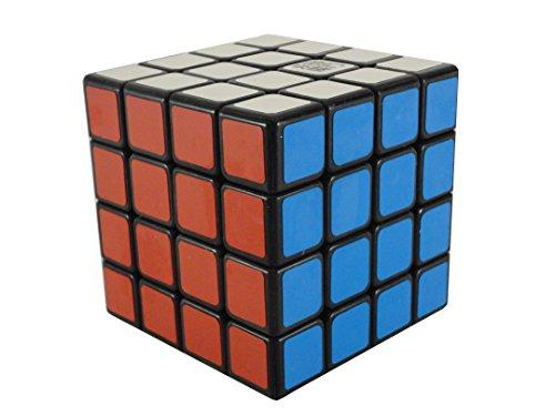 YJ Yong Jun yusu 4X4X4 (NOIR) speed cube casse tête puzzle 3d réflexion