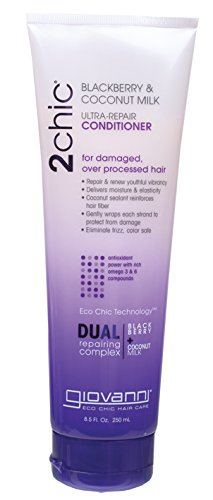 Giovanni 16602234 – Hair Conditioners (mixte, non-professional, Moisturizing, repair, Strengthening, Coconut)