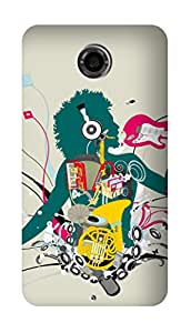 SWAG my CASE PRINTED BACK COVER FOR GOOGLE NEXUS 6 Multicolor