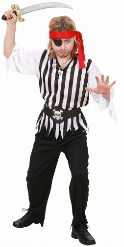 WIDMANN - Costume da Pirata, in Taglia 11/13 Anni