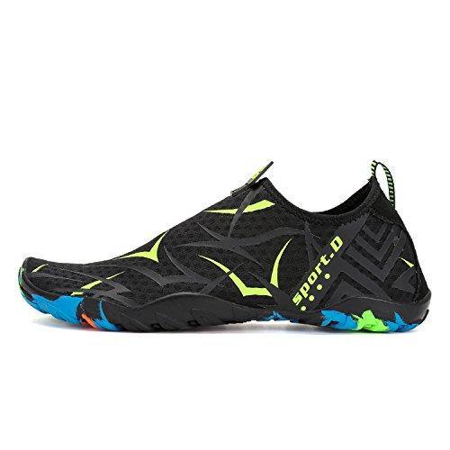 Kuuland Scarpe da Acqua Uomini Donne Scarpe da Vela Slip-On Aqua Water Shoes per Swim Beach Surf Yoga