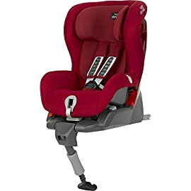 Britax-Romer 2000022707 Safefix Plus Seggiolino Auto, Flame Red