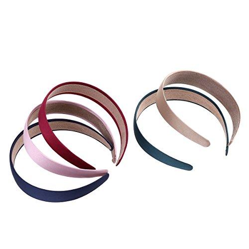 frcolor 5hart breit Pack Haarband 7,6cm für Frauen und Mädchen)