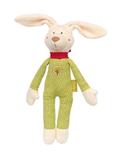 sigikid, Mädchen und Jungen, Spielfigur Hase, Grün/Weiß, 41793