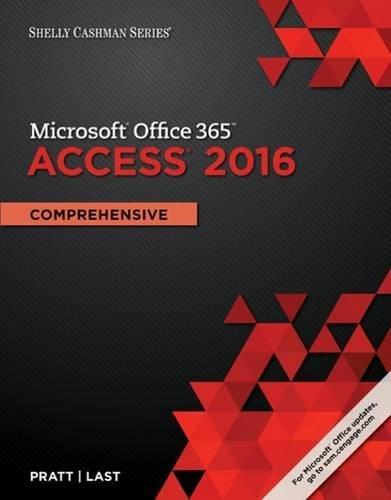 Read Pdf Shelly Cashman Series Microsoft Office 365 Access