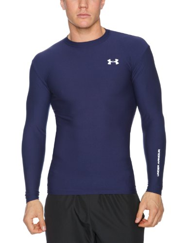 Under Armour Herren Longsleeve CG Compression Crew II, midnight navy, MD (Unterwäsche Armour Sleeve-lange Long Under)