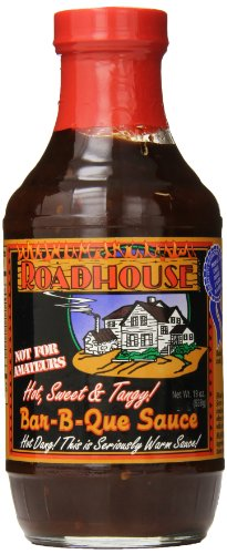 Roadhouse - Hot, Sweet, and Tangy BBQ Sauce - 562g