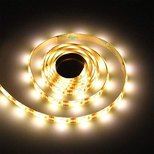 LED Kabinett Licht Handheld Bewegungssensor Schalter Hand Sweep Dimmen LED Lichtleiste Küche Flur Beleuchtung 1M 2M 3M 4M 5M Nachtlicht @ Warm White 1M 2 Meter Handheld