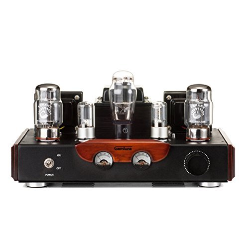 GemTune GS-02 KT88 Röhrenverstärker Hi-Fi, Röhren: KT88*2, 6N8P*2, 5Z3P*1, Hallo-End-Röhrenverstärker, Single-End-Vollverstärker, 100% Handmade