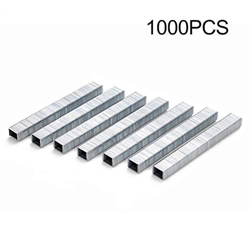1000 Stücke 1008J Tür Geformt Heftklammern 11,3 * 1,2mm Nägel Für Tacker 3-in-1 Hefter Maschine Zubehör Carpenter Tool(Color:silver)