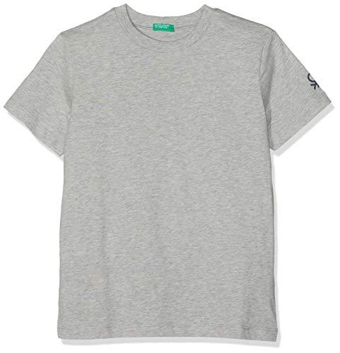 UNITED COLORS OF BENETTON T- Shirt, Pull sans Manche Garçon, Gris (Grigio Melange 501), Unique (Taille Fabricant: 2Y)