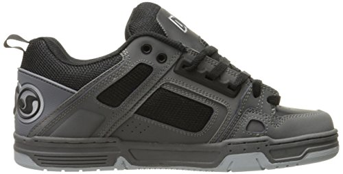 DVS COMMANCHE, Sneaker uomo Gris (Charcoal Black Leather Nubuck)