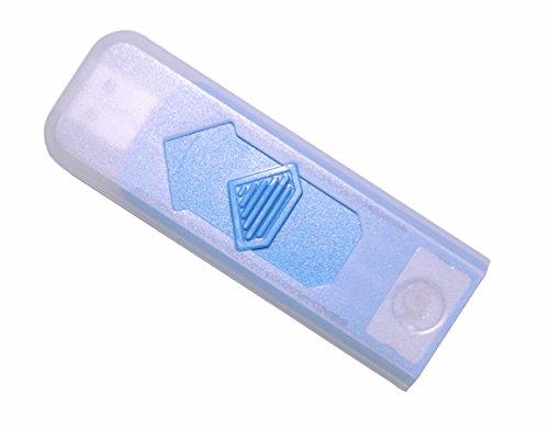 Unbekannt USB Gadget Feuerzeug Zigarettenanzünder Zigaretten Anzünder Glühspirale Elektrisch Wiederaufladbar Versch. Farben wählbar (Blau)