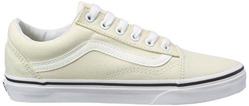 Vans Unisex-Erwachsene Old Skool Sneaker Elfenbein (canvas/classic White)