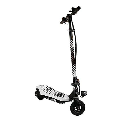 SmartGyro Viper Patín Scooter Eléctrico, Unisex Niños, Blanco, 6