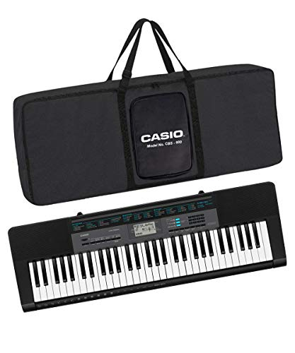 Casio CTK-2550 61-Key Portable Keyboard with Carry Case (Black)