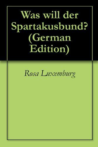 Was will der Spartakusbund?
