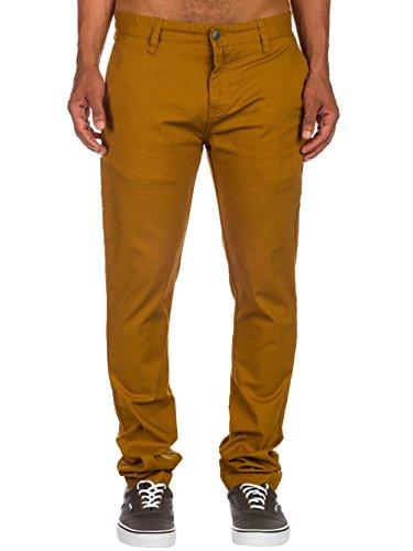 Volcom Herren Hose Frickin Tight Chino Pant Rust