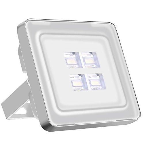 Viugreum Focos LED Exterior 10w/Proyector Reflector de Pared/Iluminación Exterior IP65 Resistente al agua