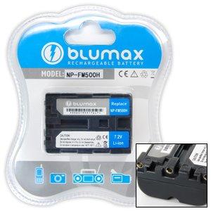 Blumax Li-Ion Ersatzakku für Sony NP-FM500H (1650 mAh)